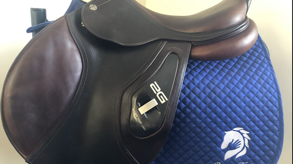 "17.5"" CWD 2G se17 saddle - 2012 - 3L - 4"" dot to dot"