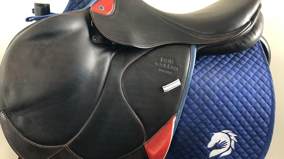 """17.5"""" Stubben Zaria optimum saddle - 2018 - 4G - 29cm medium"""