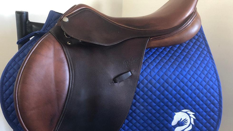 """17.5"""" Pessoa genx xch saddle - adjustable medium inserted"""