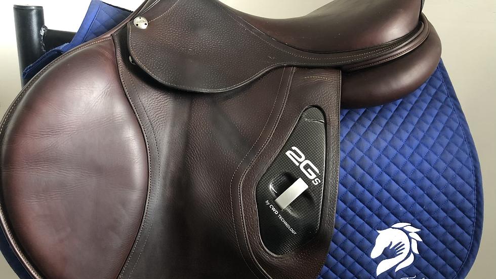 "17.5"" CWD Se25 2Gs saddle - 2017 - 3C - 4.5"" dot to dot"