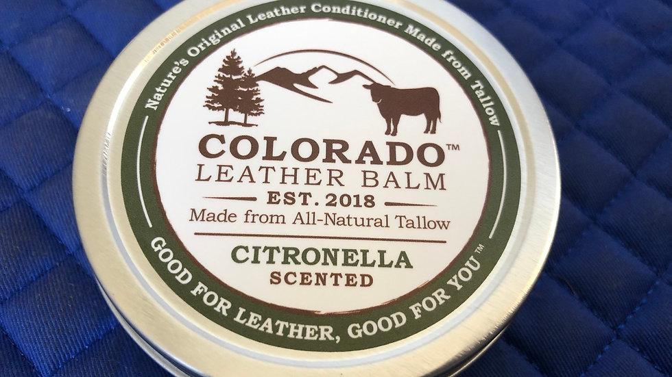 Colorado leather balm 4oz Citronella