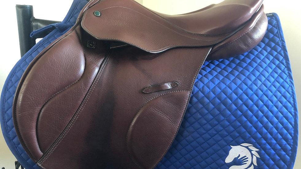 """16.5"""" Stubben genesis CS de luxe biomex saddle - wide tree"""