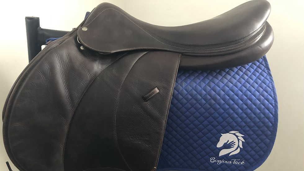 """20.5"""" Voltaire Palm Beach saddle - 2014 - 5AAR - 4.75"""" dot to dot"""