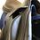 "Thumbnail: 18.5"" Devoucoux Chiberta saddle - 2004 - 2X - 4.5"" dot to dot"