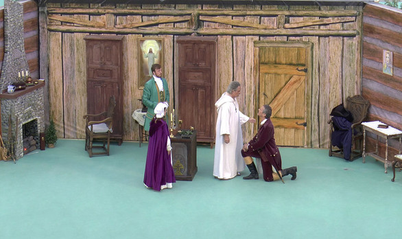 Patriotic Play-Consecration of George Wa