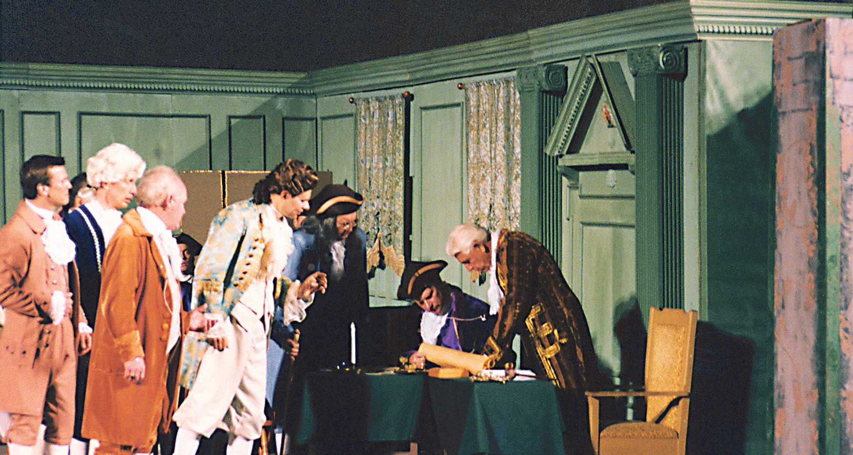 Patriotic Play-Signing of the Declaratio
