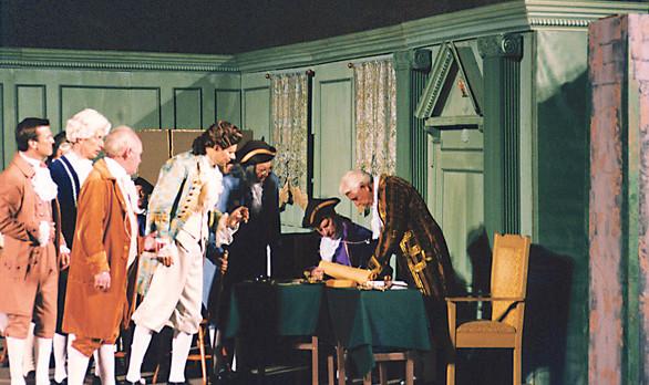 Patriotic Play-Signing of the Declaratio