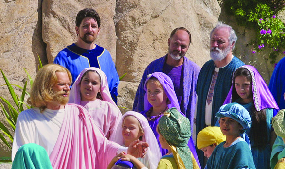 I AM Come Pagent-Jesus and the Children