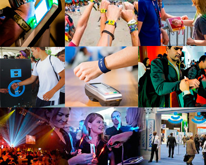 Tecnologia NFC/RFID |  Sensação dos EVENTOS