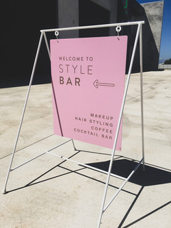 Style Bar A-Frame