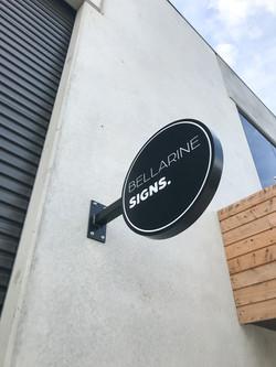 Bellarine Signs Round Wall Sign