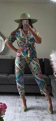 Print Jump Suit