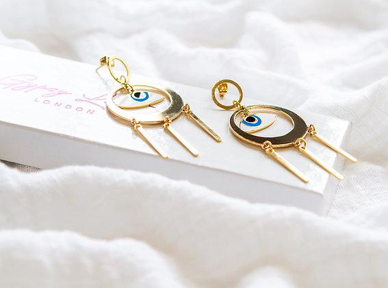 Ocean Eye Earrings