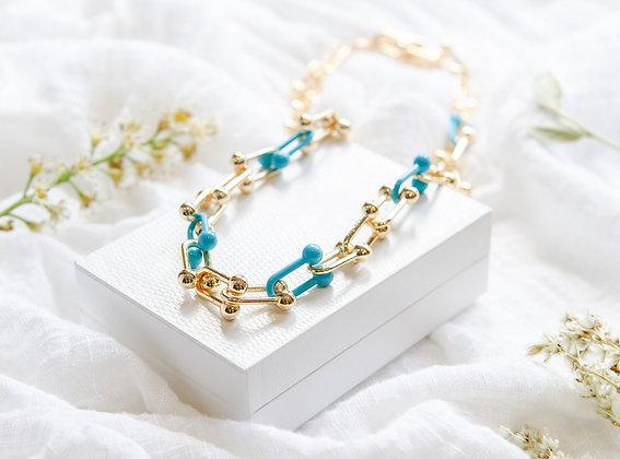 Blue De France Necklace