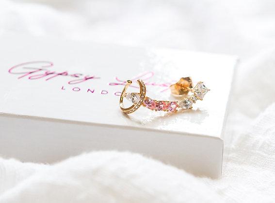 Ariel Pink Earring/Cuff