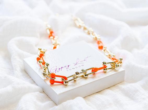 Orange De France Necklace
