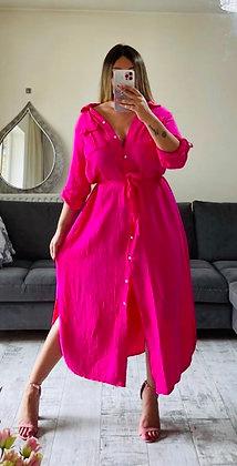Pink Maxi Shirt
