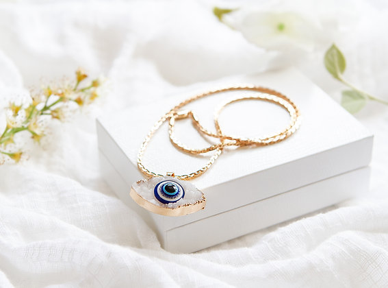 Midnight Eye Necklace