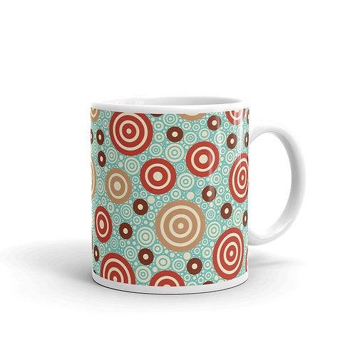 Aztec Warrior Mug Sky