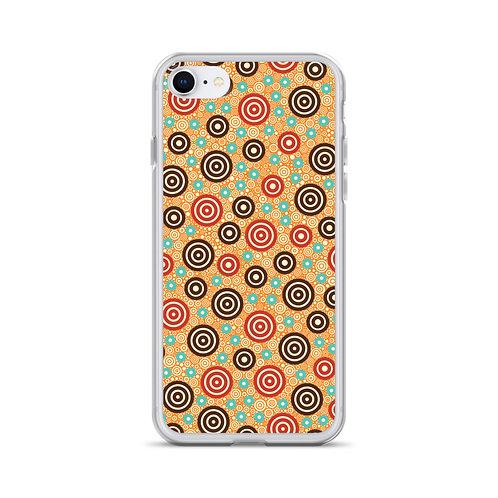 Aztec Warrior iPhone Case Gold