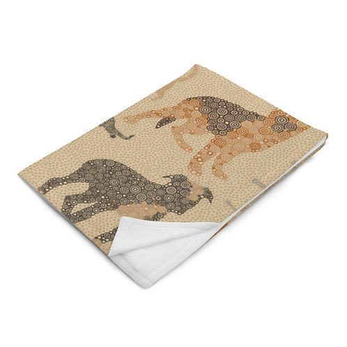 Cats And Dogs Throw Blanket