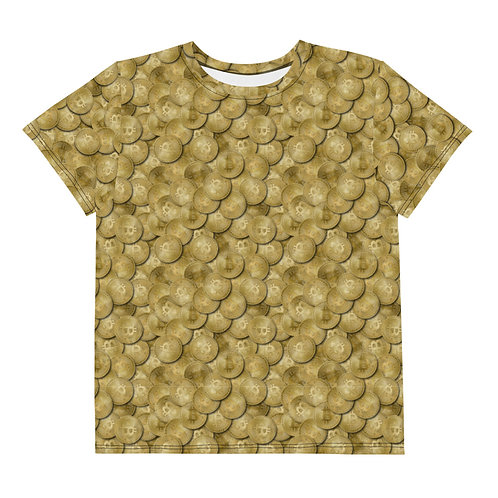 Youth All Over Cryptocurrency Bitcoin T-Shirt
