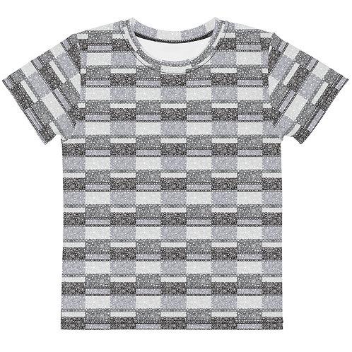 Kids Unity T-Shirt Black And White