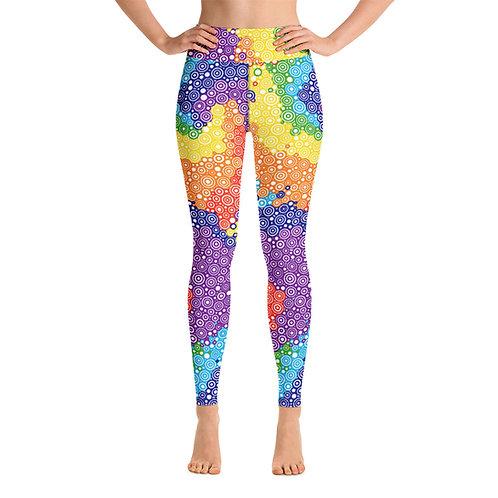 Women Yoga Tie Dye Leggings