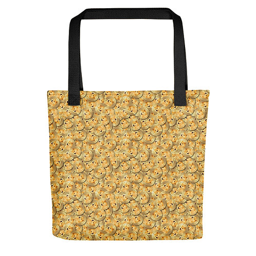 Cryptocurrency Dogecoin Tote