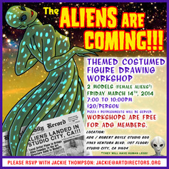 2014/03/14 - The Aliens Are Coming