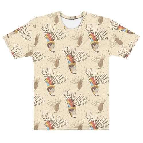 Men All Over Aztec Warrior T-Shirt