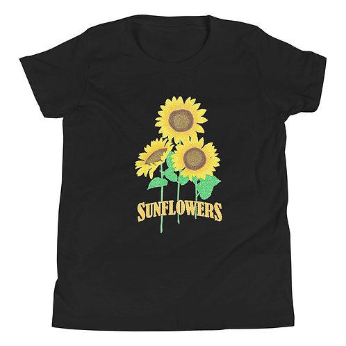 Youth Sunflowers Short Sleeve T-Shirt
