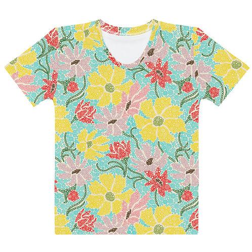 Women All Over Spring Garden T-Shirt