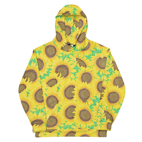 All Over Sunflowers Hoodie