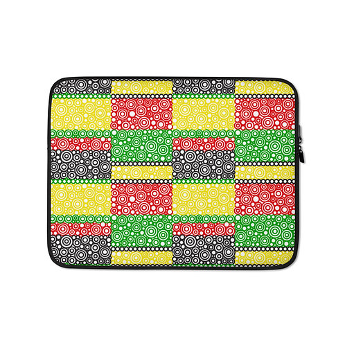 Unity Laptop Sleeve Afrocentric