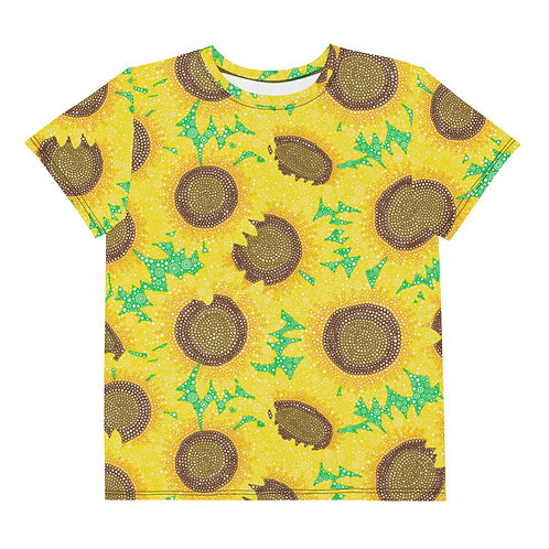 Youth All Over Sunflowers T-Shirt