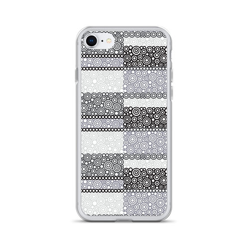 Unity iPhone Case Black And White