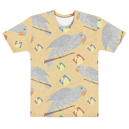 Men All Over Parrots T-Shirt