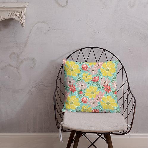 Spring Garden Premium Pillow