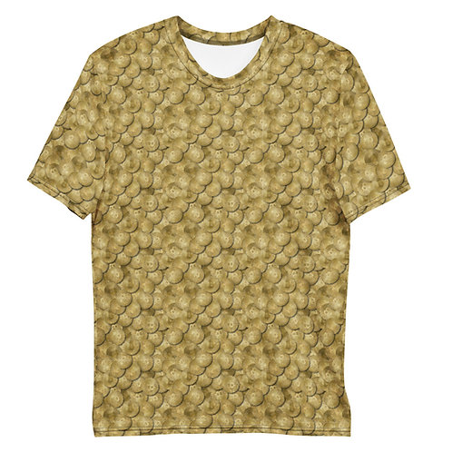 Men All Over Cryptocurrency Bitcoin T-Shirt