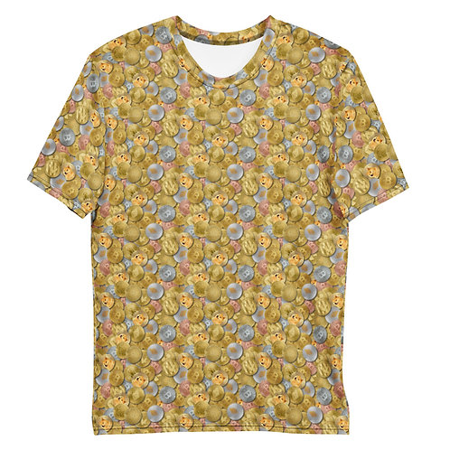 Men All Over Cryptocurrency T-Shirt