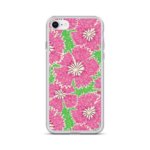 Dianthus Annuals iPhone Case