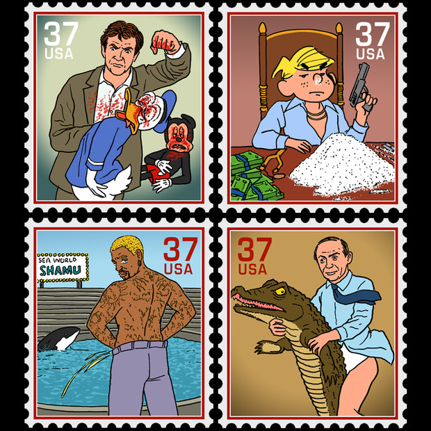 Famous Denise Stamps