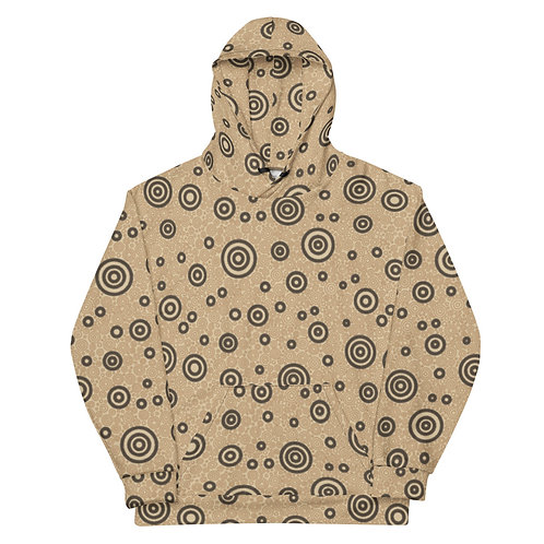 All Over Cats And Dogs Circles Hoodie