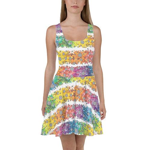 Light Spectrum Skater Dress