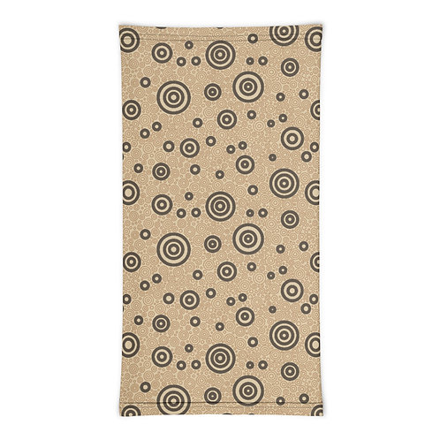 Cats And Dogs Circles Neck Gaiter