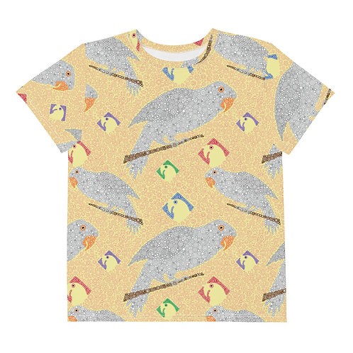 Youth All Over Parrots T-Shirt