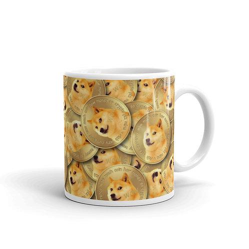 Cryptocurrency Dogecoin Mug