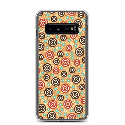 Aztec Warrior Samsung Phone Case Gold