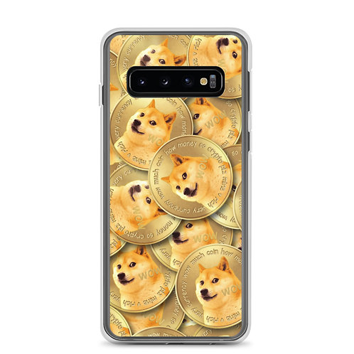 Cryptocurrency Dogecoin Samsung Phone Case
